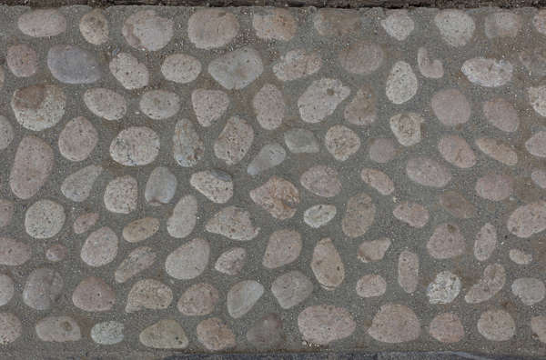 pebbles concrete stones floor ground cobble