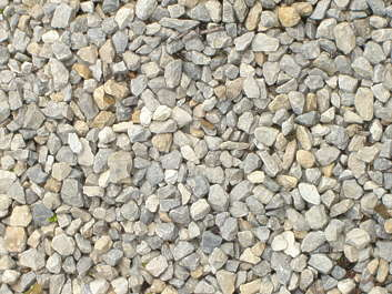 pebbles gravel ground closeup