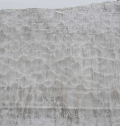 snow wall ice winter frozen cold