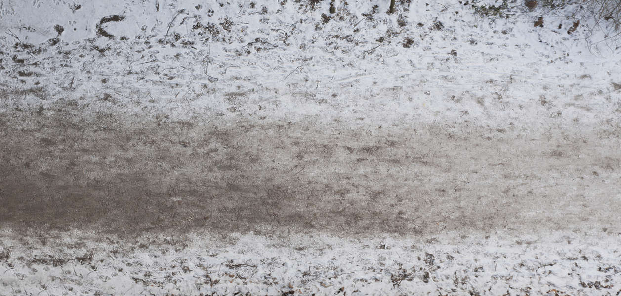 Snow free background texture path dirty