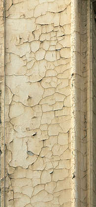 plaster cracked cracks paint old
