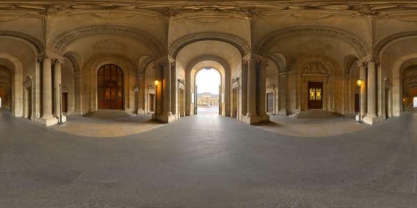 Hdr Panorama 001 Renaissance Interior Hdri Light Probe