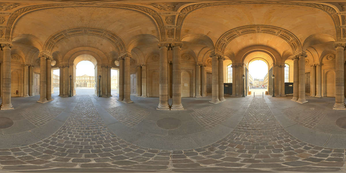 Hdr Panorama 002 Renaissance Interior B Hdri Light Probe