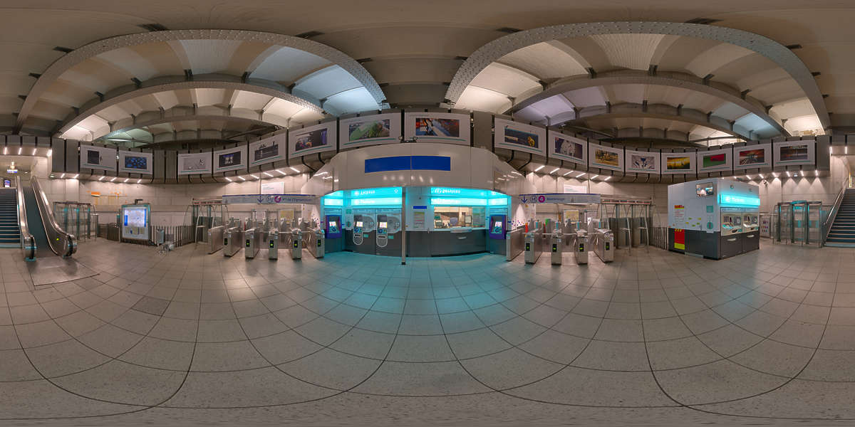 Hdr Panorama 007 Subway Hall Hdri Light Probe