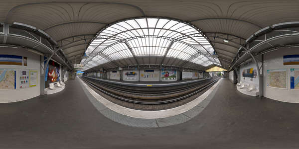Hdr Panorama 014 Subway Station Hdri Light Probe