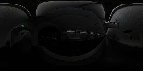 Hdr Panorama 017 Subway Station B Hdri Light Probe