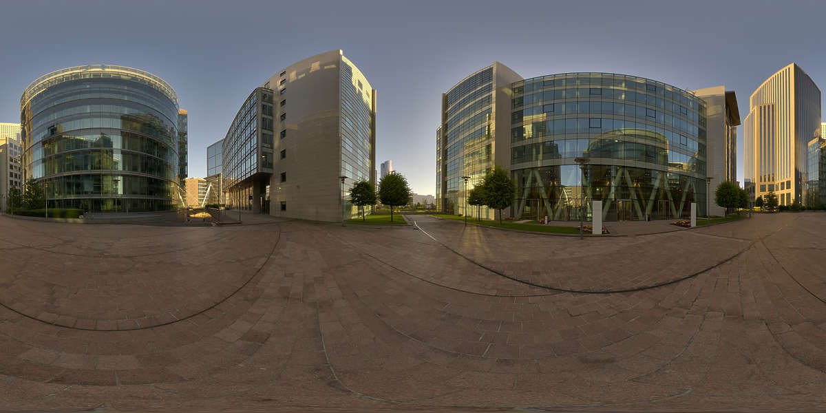 Hdr Panorama 021 Office Courtyard Hdri Light Probe