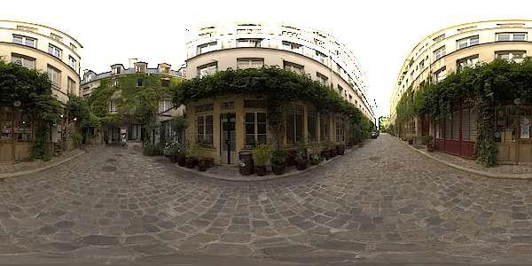 Hdr Panorama 024 Paris Alley B Hdri Light Probe