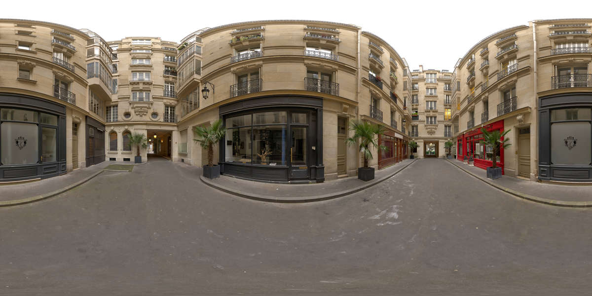 Hdr Panorama 032 Paris Courtyard Hdri Light Probe