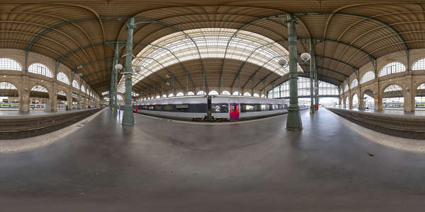 Hdr Panorama 038 Train Station Platform Hdri Light Probe