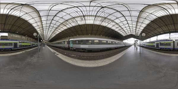 Hdr Panorama 039 Train Station B Hdri Light Probe