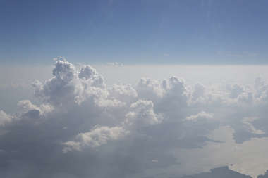 aerial sky clouds sea background