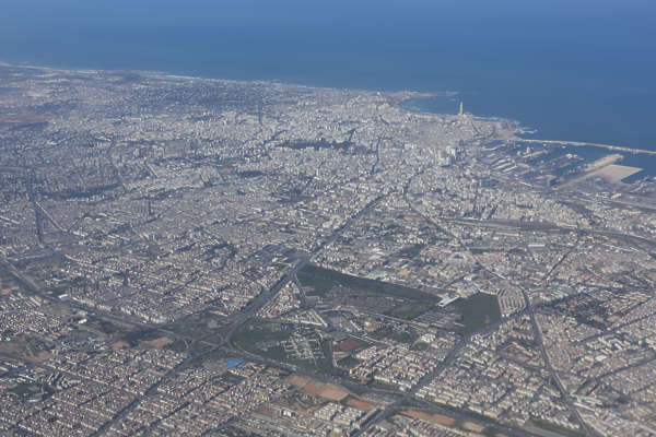 landscape landscapes background morocco aerial city casablanca