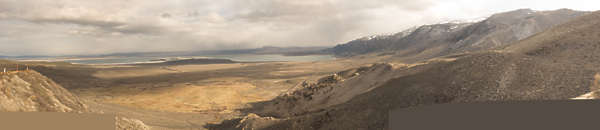 landscape arid dry mountains hills panorama USA desert