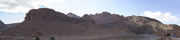 morocco landscape panorama background mountains mountain rock formation dry arid