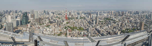 japan tokyo aerial location:Mori building top city landscape background cityscape metropolis buildings