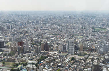 japan aerial tokyo location:city hall city landscape background cityscape metropolis buildings