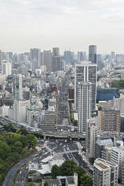 aerial city buildings landscape background skyline japan location:tokyo tower