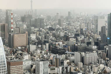 aerial city buildings landscape background japan location:tokyo tower skyline