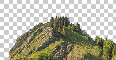 landscape green mountain cliff hill rocky cliffs background masked