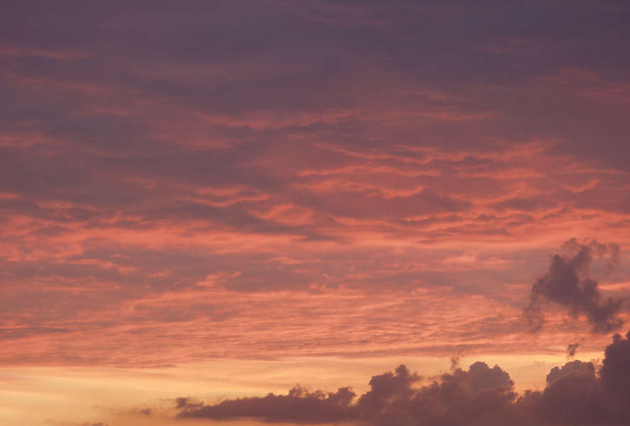 Skies0204 - Free Background Texture - clouds sky sunset