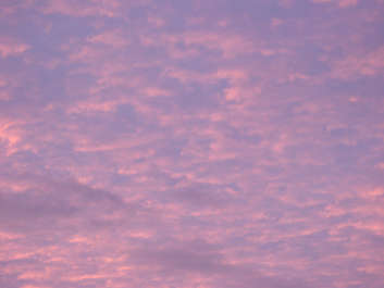 clouds sky sunset pink