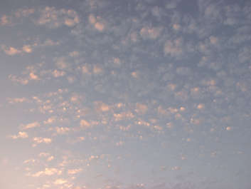 clouds sky sunset spots grunge noise