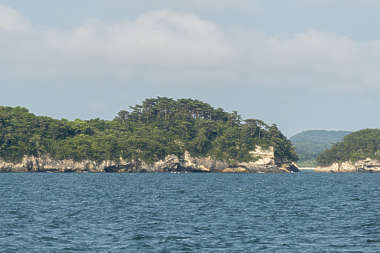 tropical island landscape background horizon japan Matsushima