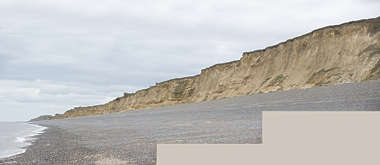 UK soil cliff earth coast coastal