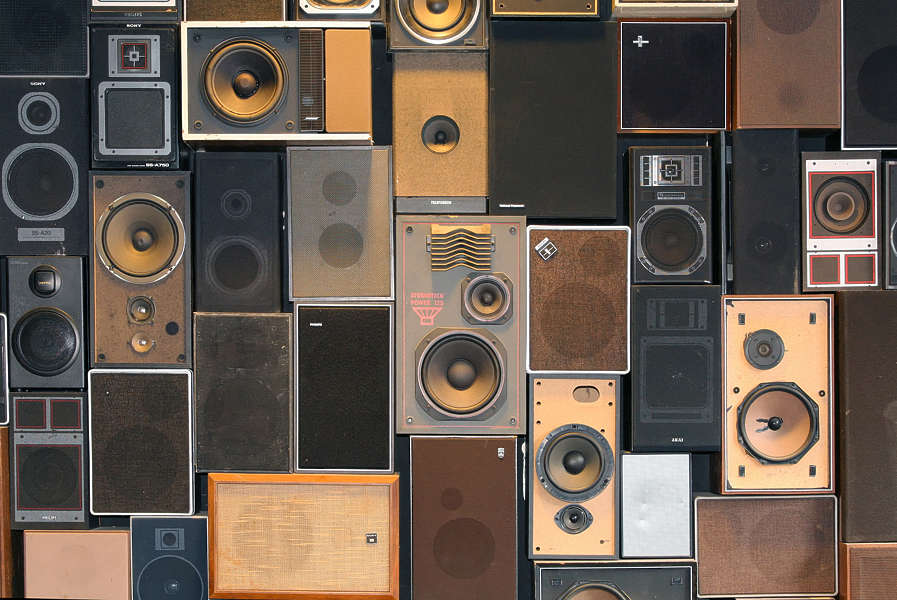 Audioequipment0039 Free Background Texture Speaker