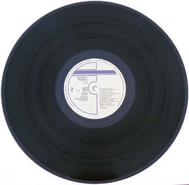vinyl record music old