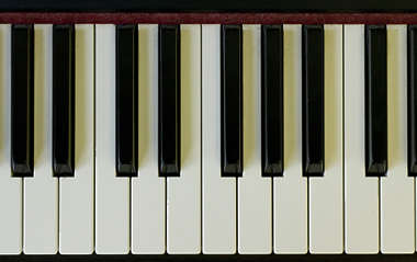 piano keys music instrument