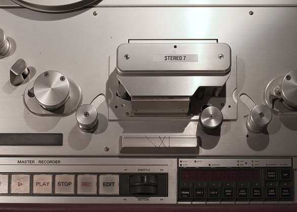 audio equipment studio tape recorder
