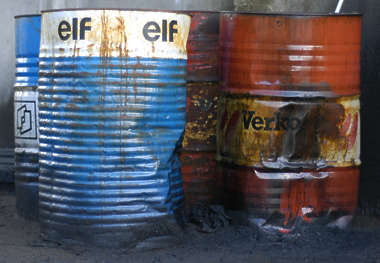 barrel oil drum