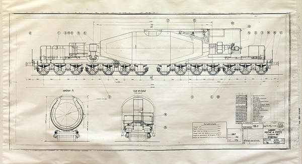 Blueprints0014 Free Background Texture Schematic Train