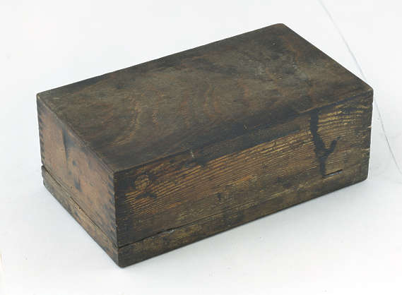 wood wooden box small crate container old
