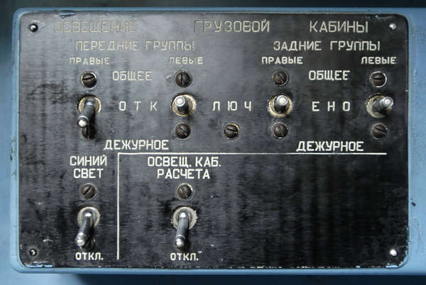 button switch panel russian