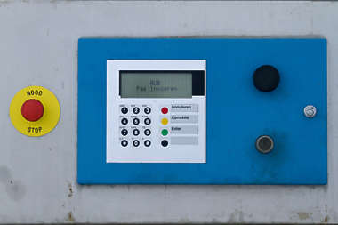 control panel buttosn keypad screen lcd