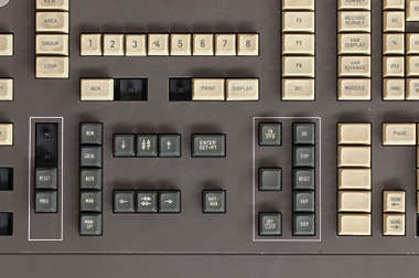 button buttons control panel keyboard old