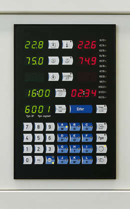 lab laboratory buttons keypad numbers led display button