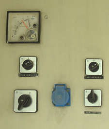 button machine switch gauge meter dial