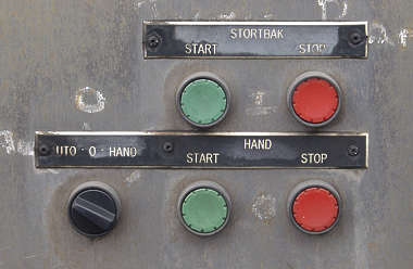 button machine panel switch
