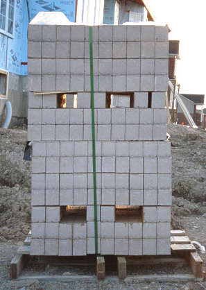 brick bricks stack cargo