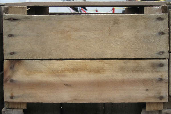 crate wood box planks cargo