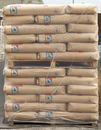 pallet stack sack sacks cement crate crates cargo
