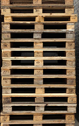 pallet wood planks pallets stack cargo