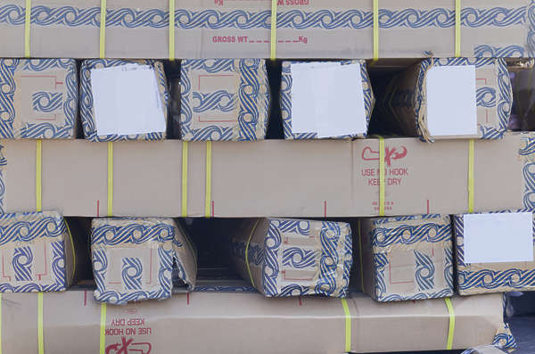 saudi arabia dubai middle east cardboard boxes box stack