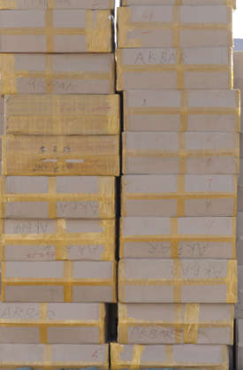 saudi arabia dubai middle east stack boxes cardboard box cargo