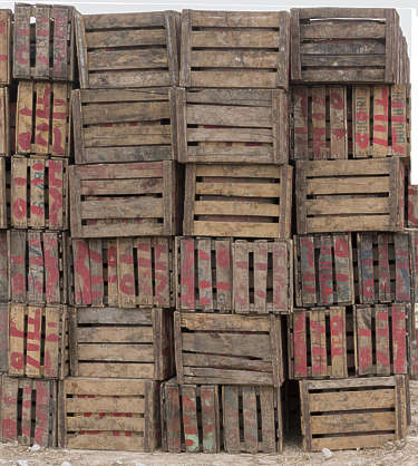 box crate ammobox cargo prop wooden stack morocco africa