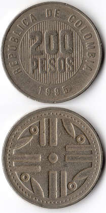 coin coins money pesos colombia